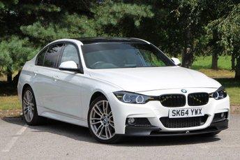 2014 BMW 3 SERIES 2.0 320D XDRIVE M SPORT 4d 181 BHP £13980.00