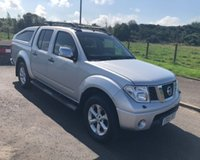 USED 2009 09 NISSAN NAVARA 2.5 DCI AVENTURA 4X4 NO VAT PICK UP  AUTO 169 BHP 6 MONTHS PARTS+ LABOUR WARRANTY+AA COVER