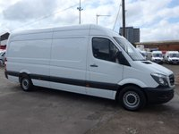 USED 2017 17 MERCEDES-BENZ SPRINTER 314CDI LWB, 140 BHP [EURO 6], LOW MILES
