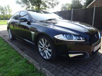 USED 2014 63 JAGUAR XF 2.2 D R-SPORT 4d AUTO 200 BHP 1 PREV OWNER