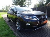 USED 2014 64 LEXUS RX 3.5 450H LUXURY 5d AUTO 1 OWNER, FULL SRV HISTORY