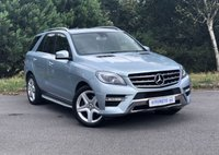 USED 2014 64 MERCEDES-BENZ M CLASS 3.0 ML350 BLUETEC AMG LINE 5d AUTO Full Merc History | Sat Nav