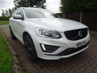 USED 2014 14 VOLVO XC60 2.4 D5 R-DESIGN NAV AWD 5d AUTO 21 FULL SERVICE HISTORY