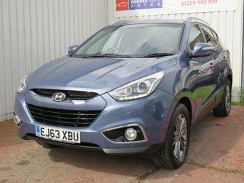 2013 HYUNDAI IX35 1.7 SE NAV CRDI 5d 114 BHP £7995.00
