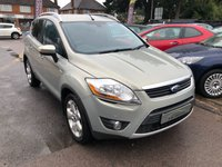 USED 2010 K FORD KUGA 2.0 TITANIUM TDCI 2WD 5d 138 BHP GREAT SPEC AND ECONOMY, SAT NAV,  CLIMATE CONTROL, SUPPLIED WITH A  NEW MOT