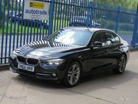 "2016 BMW 3 SERIES 2.0 320D SPORT 4d Auto Professional Nav Cruise DAB 18"" Alloys Bluetooth & audio £SOLD"