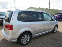 USED 2013 63 VOLKSWAGEN TOURAN 1.6 SE TDI BLUEMOTION TECHNOLOGY 5d 110 BHP 7 SEATS 1 PREV OWNER 7 SEATS