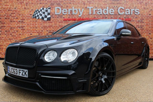 BENTLEY FLYING SPUR at Derby Trade Cars