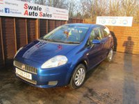 USED 2009 59 FIAT GRANDE PUNTO 1.4 DYNAMIC DUALOGIC 3d AUTO 77 BHP FINANCE AVAILABLE FROM £32 PER WEEK OVER TWO YEARS - SEE FINANCE LINK FOR DETAILS
