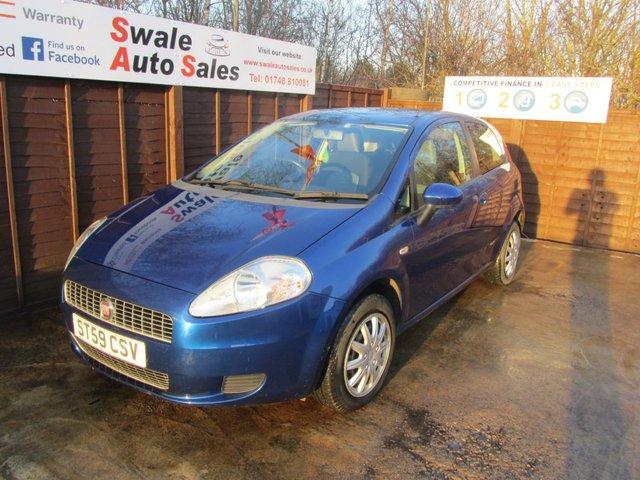 2009 Fiat Grande Punto Dynamic Dualogic £2,995