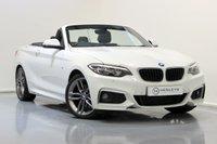 USED 2015 65 BMW 2 SERIES 2.0 220D M SPORT 2d AUTO 188 BHP