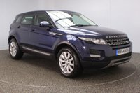 USED 2014 64 LAND ROVER RANGE ROVER EVOQUE 2.2 SD4 PURE TECH 5DR SAT NAV HEATED LEATHER 190 BHP LAND ROVER SERVICE HISTORY + HEATED LEATHER SEATS + SATELLITE NAVIGATION + PARK ASSIST + REVERSE CAMERA + PARKING SENSOR + BLUETOOTH + CRUISE CONTROL + CLIMATE CONTROL + MULTI FUNCTION WHEEL + DAB RADIO + ELECTRIC WINDOWS + ELECTRIC MIRRORS + 18 INCH ALLOY WHEELS