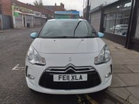 USED 2011 11 CITROEN DS3 1.6 DSTYLE 3d 120 BHP