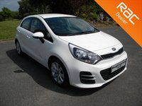USED 2016 16 KIA RIO 1.2 2 5d 83 BHP Only £30 to Tax for the year! Kia Warranty Until 2023!