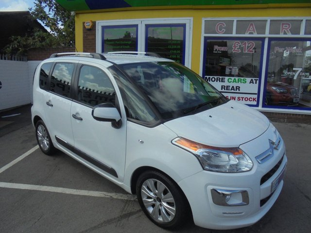 USED 2014 14 CITROEN C3 PICASSO 1.6 PICASSO EXCLUSIVE HDI 5d 91 BHP JUST ARRIVED LOW MILLAGE DIESEL MPV