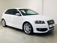 USED 2007 07 AUDI S3 2.0 TFSI QUATTRO 3d 262 BHP AUDI HISTORY + LEATHER + SAT NAV + FINANCE & PART EX WELCOME