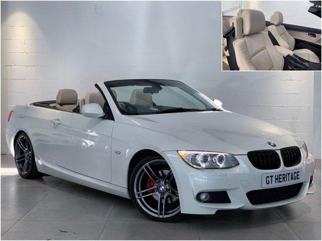 2011 61 BMW 3 SERIES 320D M SPORT [HTD SEATS][IVORY INTERIOR]