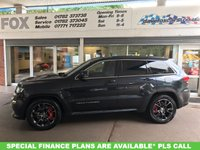 USED 2015 65 JEEP GRAND CHEROKEE 6.4 HEMI SRT8 5d AUTO 461 BHP STUNNING JEEP GRAND CHEROKEE 6.4 HEMI SRT8 AUTO