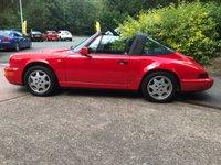1991 PORSCHE 911 3.6 CARRERA 4 TARGA 2d 250 BHP £79995.00