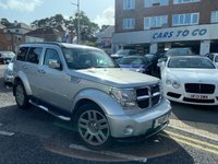 USED 2007 R DODGE NITRO 2.8 SXT TD 5d AUTO 175 BHP CHROME EDITION RARE CAR,FULL SPEC,AUTOMATIC,LEATHER INTERIOR, READY TO GO, PX TO CLEAR!!