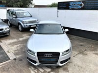 USED 2011 61 AUDI A5 2.0 TDI BLACK EDITION 2d 168 BHP