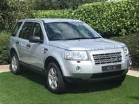 USED 2009 59 LAND ROVER FREELANDER 2.2 TD4 GS 5d 159 BHP A Superb Low Mileage Example with a Full Documented Service History and a Great Specification to Include: 18 Inch Alloy Wheels, Park Distance Control, Digital Dual Zone Climate Control, Leather Multi Function Steering Wheel, Cruise Control, Heated Electric Powerfold Mirrors, Automatic Headlights