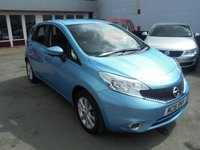 USED 2016 16 NISSAN NOTE 1.2 TEKNA DIG-S 5d AUTO 98 BHP