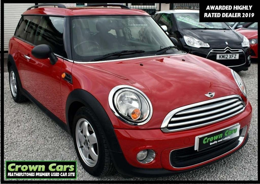 USED 2011 61 MINI CLUBMAN 1.6 One 5dr 3 MONTH WARRANTY & PDI CHECKS