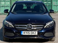 USED 2015 15 MERCEDES-BENZ C CLASS 2.1 C250 CDI BlueTEC Sport G-Tronic+ (s/s) 5dr RearCam/ParkAssist/Cruise/Nav