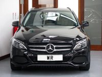 USED 2016 16 MERCEDES-BENZ C CLASS 2.1 C220d Sport 7G-Tronic+ (s/s) 5dr R/CAMERA + HEATED LEATHER
