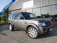 USED 2014 14 LAND ROVER DISCOVERY 3.0 SDV6 GS 5d AUTO 255 BHP FULL HISTORY, LEATHER, 2 KEYS, FULL SERVICE HISTORY, EXCELLENT CONDITION BOTH INSIDE AND OUT