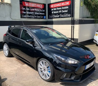 2016 FORD FOCUS RS 2.3 ECOBOOST 5DR 345 BHP, LUX PACK £24995.00