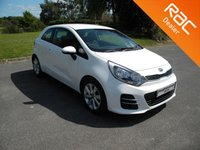 USED 2016 16 KIA RIO 1.2 2 3d 83 BHP Still Under Kia Warranty! Alloy Wheels, Bluetooth, Air Con, Cheap To Tax