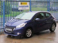 USED 2014 63 PEUGEOT 208 1.4 HDI ACTIVE 3dr Touch screen Air con Fogs Alloys Zero Tax-Great Fuel Economy-Low Miles