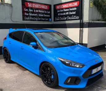 2017 FORD FOCUS RS 2.3 ECOBOOST 5DR 345 BHP, WINTER PACK & GHOST IMMOBILISER £28495.00