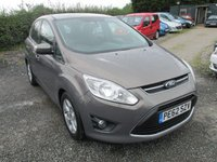 USED 2012 62 FORD C-MAX 1.6 ZETEC 5d 104 BHP LOW MILES SERVICE HISTORY ALLOY CD