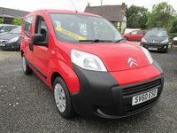 USED 2011 60 CITROEN NEMO 1.4 8V HDI 5d 68 BHP LOW MILEAGE LOW TAX SERVICE HISTORY