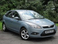 USED 2009 59 FORD FOCUS 1.6 ZETEC 5d ECONOMICAL FAMILY HATCHBACK