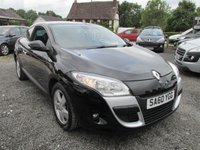 USED 2010 60 RENAULT MEGANE 1.5 DYNAMIQUE TOMTOM DCI 3d 106 BHP SATNAV ALLOYS CD AIRCON ELECTRIC PACK SERVICE HISTORY