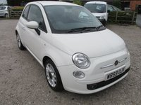 USED 2009 59 FIAT 500 1.2 SPORT 3d 69 BHP ALLOYS CD AIRCON LOW ROAD TAX