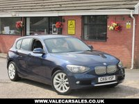 USED 2011 61 BMW 1 SERIES 118D URBAN (ONLY £30 ROAD TAX) 5dr GREAT VALUE FOR MONEY NEW SHAPE DIESEL BMW