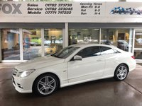 2011 MERCEDES-BENZ E CLASS 3.0 E350 CDI BLUEEFFICIENCY SPORT 2d 231 BHP £10975.00