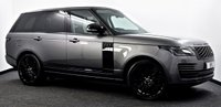 "USED 2019 19 LAND ROVER RANGE ROVER 3.0 SD V6 Vogue Auto 4WD (s/s) 5dr Black Pack, Pan Roof, 22""s ++"