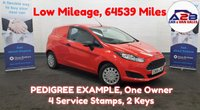 2014 FORD FIESTA 1.6 ECONETIC TDCI 95 BHP Low Mileage 64539 Miles, F.S.H, PEDIGREE EXAMPLE,    £4480.00