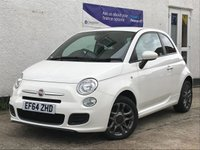 USED 2015 64 FIAT 500 1.2 S 3d 69 BHP A Little Beauty! Two Owners - Full Service History.