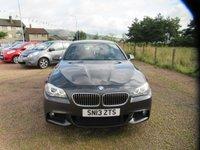 USED 2013 13 BMW 5 SERIES 2.0 525D M SPORT 4d AUTO 215 BHP