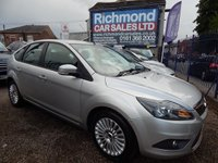 USED 2010 59 FORD FOCUS 1.6 TITANIUM TDCI 5d 109 BHP HEATED SEATS, ALLOY WHEELS, KEYLESS ENTRY AND GO,