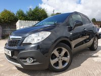 USED 2014 14 VAUXHALL MOKKA 1.7 SE CDTI S/S 5d 128 BHP 2KEYS+HEATED LEATHER+PARK+USB+ALLOY+30 ROAD TAX+PRIV GLASS+MEDIA+