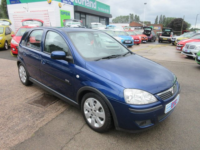USED 2005 55 VAUXHALL CORSA 1.4 SXI 16V TWINPORT 5d 90 BHP