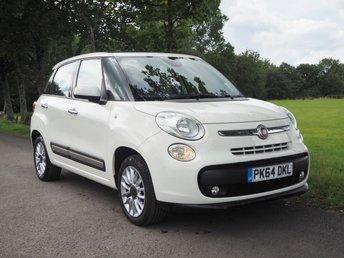 2014 FIAT 500L 1.4 LOUNGE 5d 95 BHP £6495.00